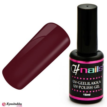 CH Nails Geelilakka Red Lotus