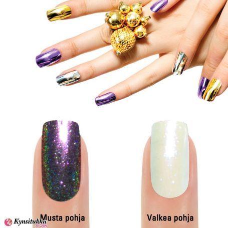 Mirror Chrome Peilipuuteri Violett 583#