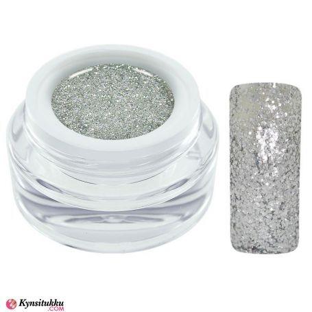 CH Nails Extreme Glitter Geeli Silver 5ml