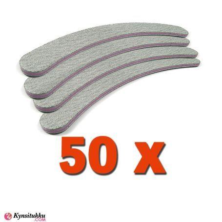 Professional Kynsiviila Banana Zebra 100/180 50kpl pakkaus