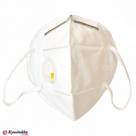 Hengityssuojain / Kasvomaski Venttiilillä FFP2 (KN95) 3kpl