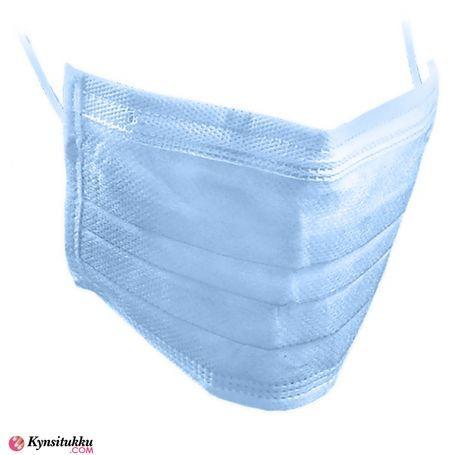 Hengityssuojain / Kasvomaski 3-kerrosta sininen 10 kpl