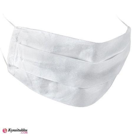 Hengityssuojain / Kasvomaski 2-kerrosta valkea 10 kpl