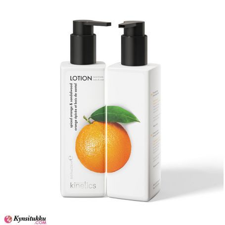 Kinetics Käsivoide Spiced Orange and Sandalwood 250ml