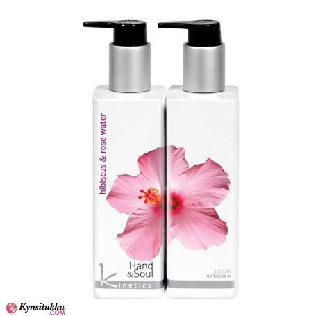 Kinetics Käsivoide Hibiscus & Rose Water  250ml