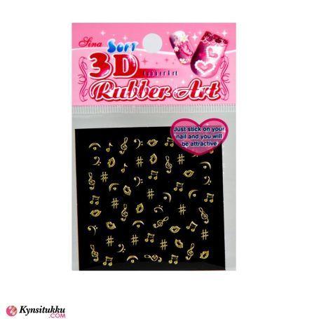 3D NailSticker X154