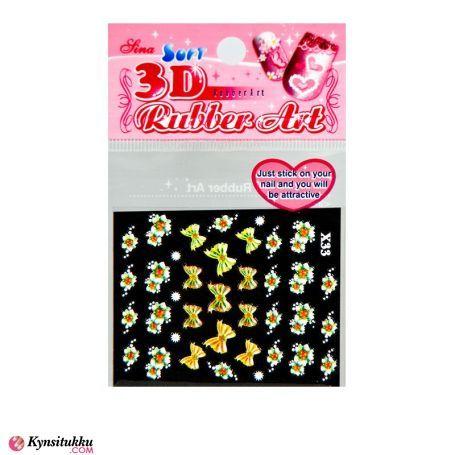 3D Nail Sticker X33
