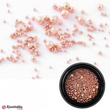 Nail Decoration Pearls Rose Gold