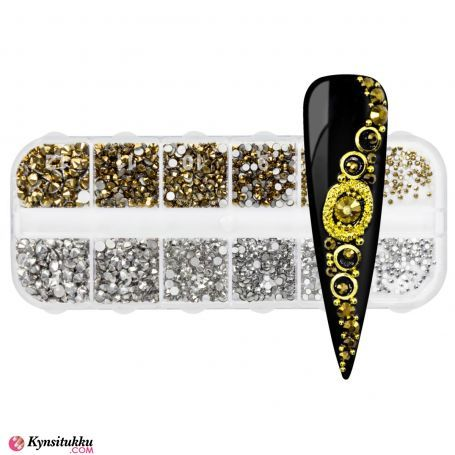Rhinestones Gold and Silver