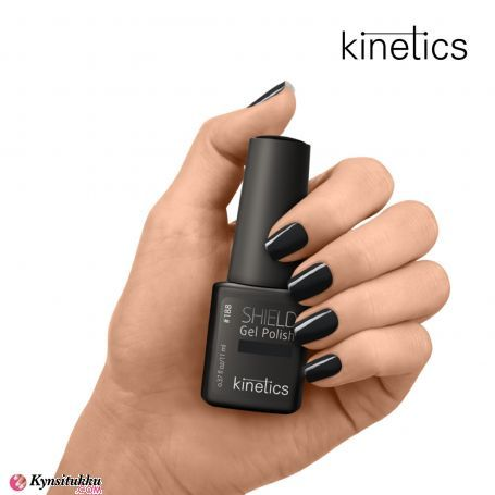 Kinetics Shield Gel Polish Jet Black  #188
