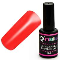 CH Nails Geelilakka Neon Flame Red