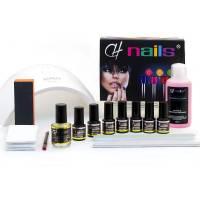 CH Nails Premium Geelilakka Aloituspakkaus