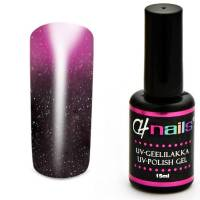 CH Nails Thermo Geelilakka Darknude-Pink Metallic