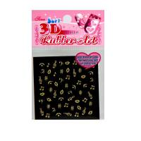 3D NailSticker X154